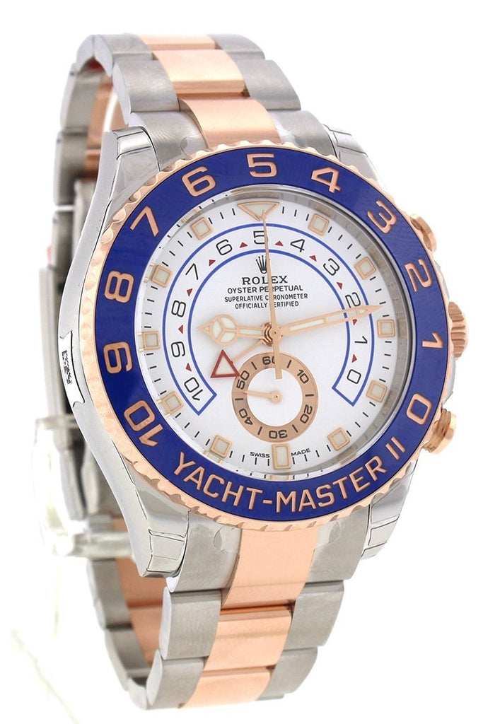 ROLEX Yacht-Master II 44 18k Rose Gold and Steel Watch 116681
