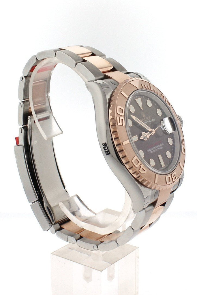 Rolex Yacht-Master 40 Chocolate Dial 18K Rose Gold Mens Watch 116621