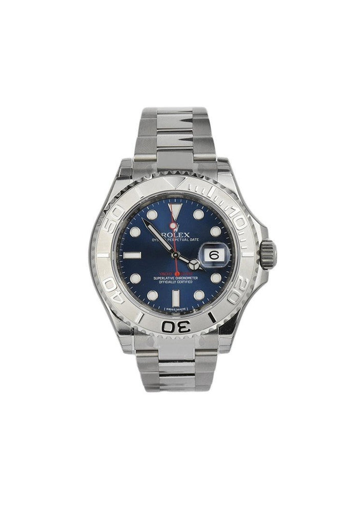 Rolex Yacht-Master 40 Blue Dial Platinum And Steel Mens Watch 116622