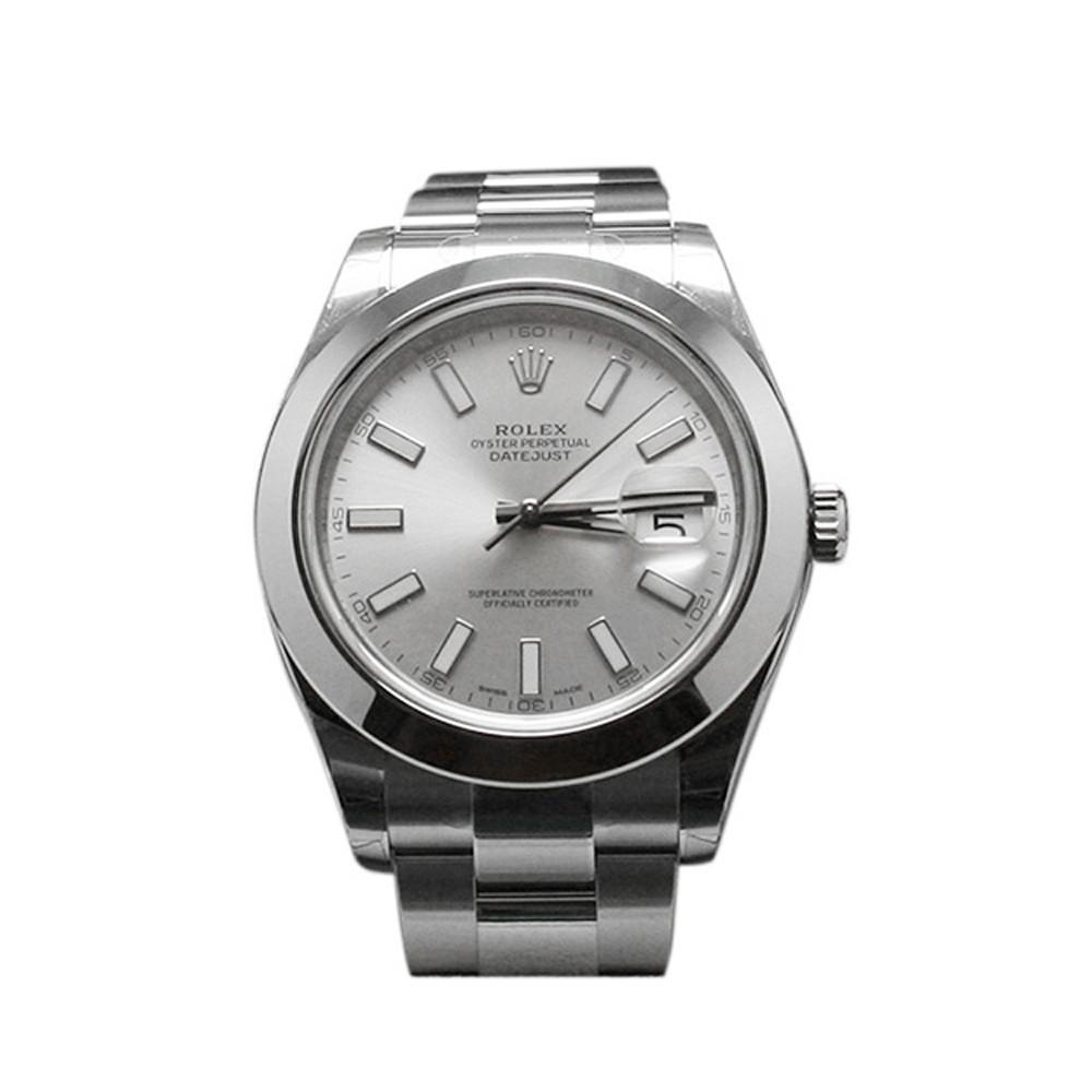 ROLEX 116300 Datejust II 41 Silver Dial Steel Men's Watch