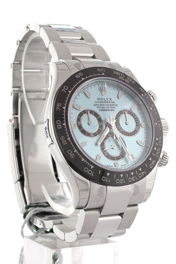 ROLEX Cosmograph Daytona Ice Blue Dial Men's Watch 116506