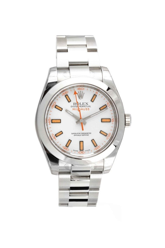 ROLEX Milgauss White Dial Men's Watch 116400 | WatchGuyNYC