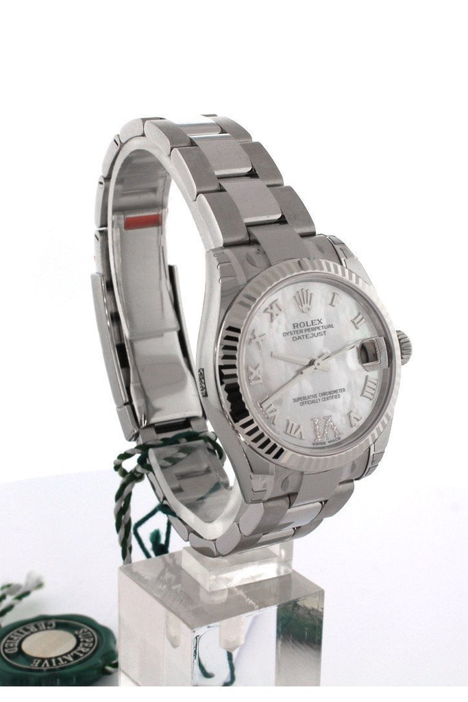 ROLEX 178274 Datejust 31 Mother of Pearl Dial Men's Watch | WatchGuyNYC