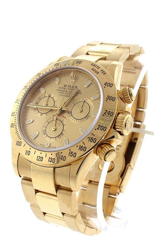 ROLEX Cosmograph Daytona Champagne Champagne Steel 18K Yellow Gold Men's Watch 116528