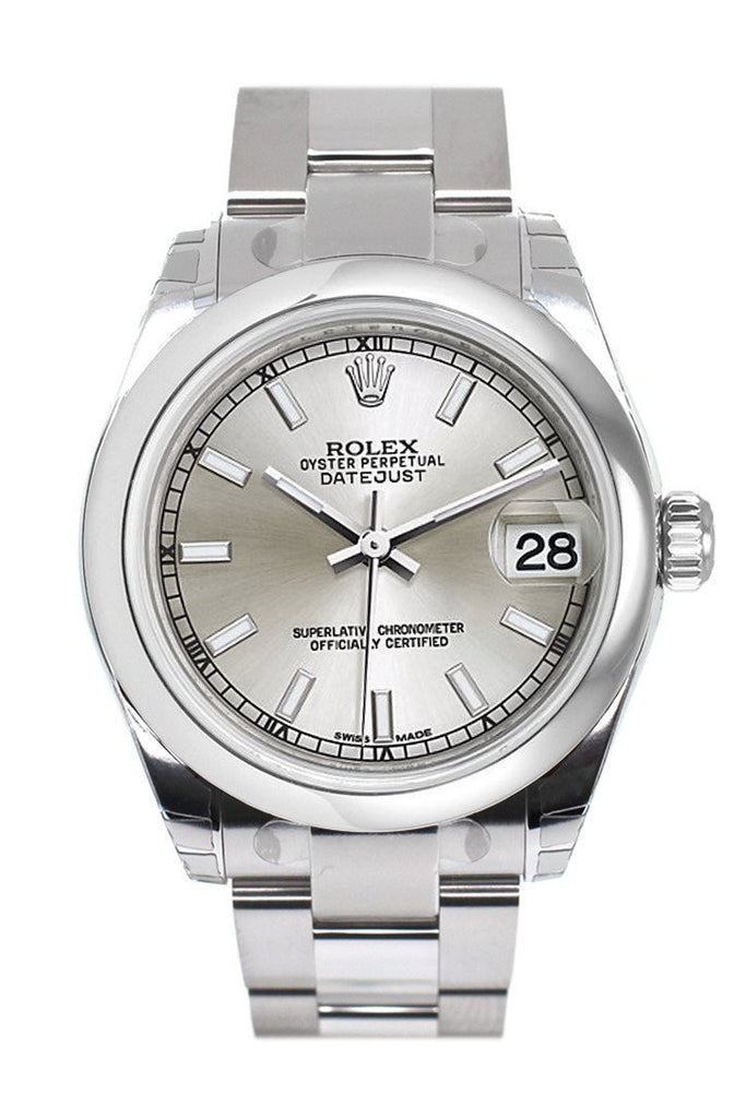 Rolex Datejust 31 Silver Dial Steel Ladies Watch 178240 / None