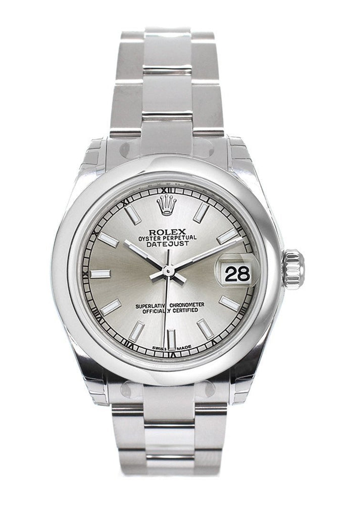 Rolex Datejust 31 Silver Dial Steel Ladies Watch 178240