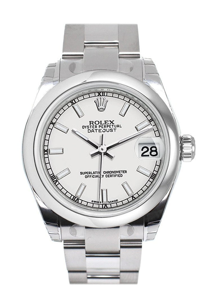 Rolex Datejust 31 White Dial Steel Ladies Watch 178240 / None