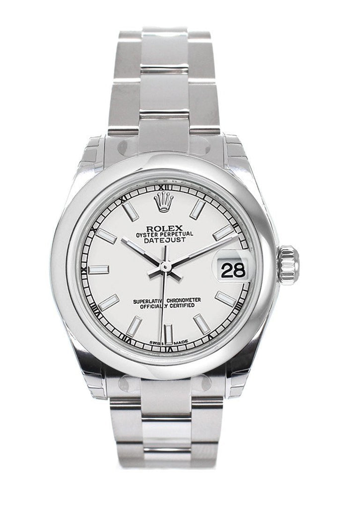 Rolex Datejust 31 White Dial Steel Ladies Watch 178240