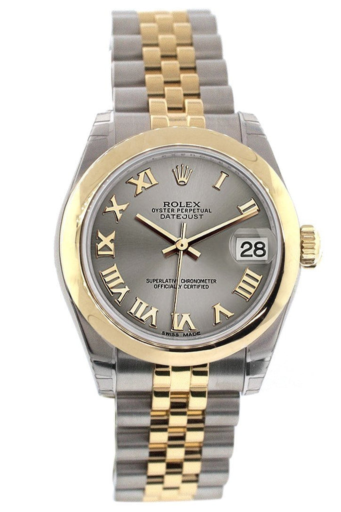 Rolex Datejust 31 Steel Roman Dial 18K Gold Two Tone Jubilee Ladies 178243