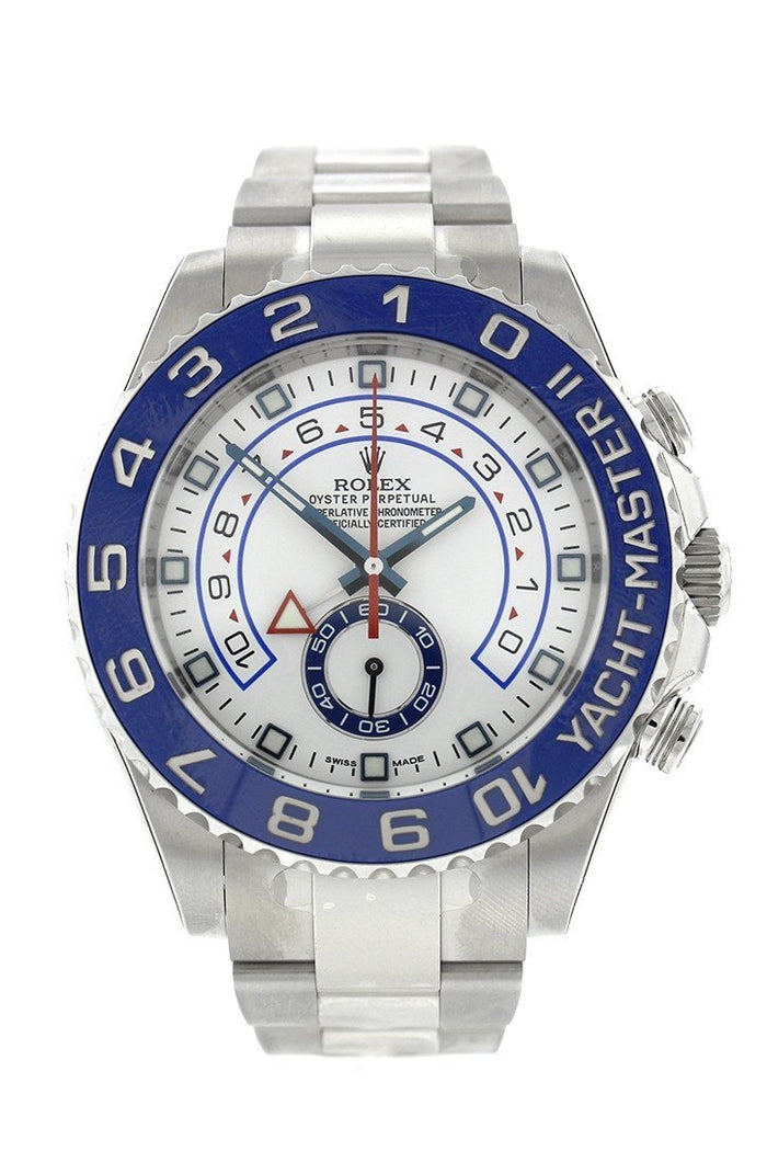 ROLEX Yacht-Master II 44 White Dial Stainless Steel Men's Watch 116680