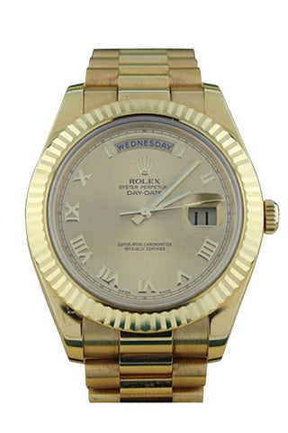 Rolex 218238 Day-Date II President 41 Men's Watch | WatchGuyNYC