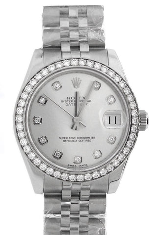 Rolex 116244 Datejust 36 MOP Mother of Pearl Dial Watches | WatchGuyNYC