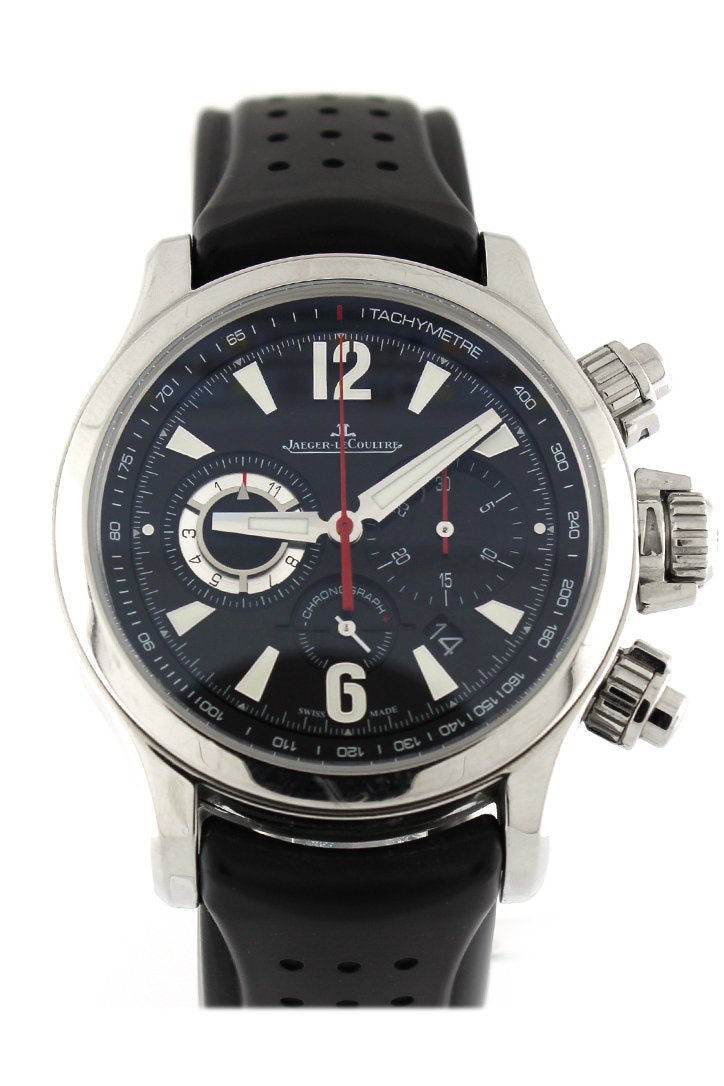Jaeger-LeCoultre Master Compressor Chronograph 2 Luxury Watch Q1758421 Pre Owned