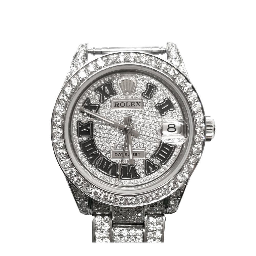 Rolex Custom Datejust Diamond Dial 	DIL_065