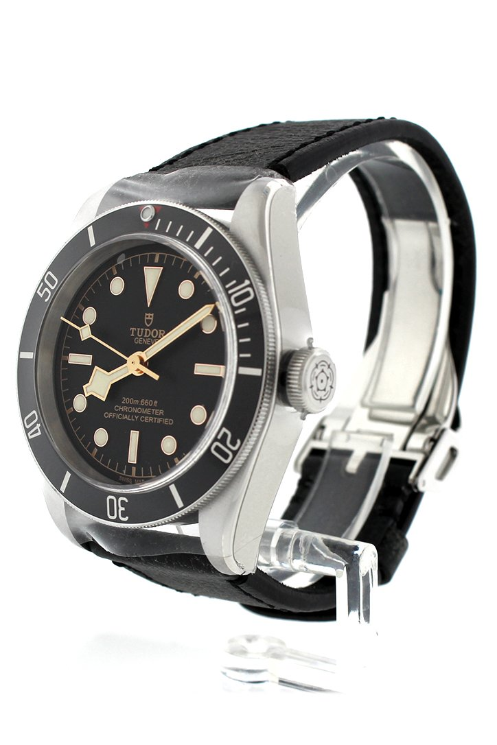 Tudor Heritage Automatic Black Dial Mens Watch 79230N