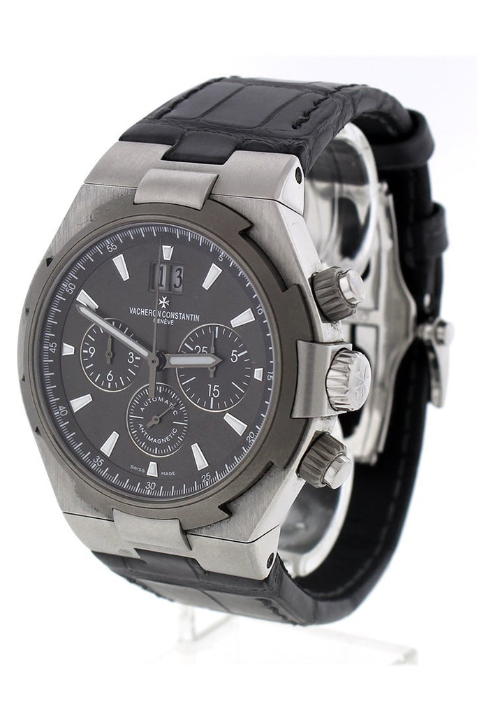 Vacheron Constantin Overseas Chronograph Watches 49150/000W-9501 Pre Owned Pre-Owned-Watches