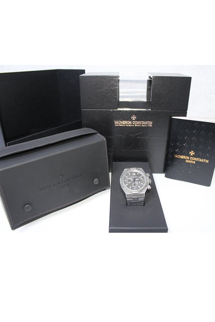 Vacheron Constantin Overseas Chronograph Watches 49150/000W-9501 Pre Owned