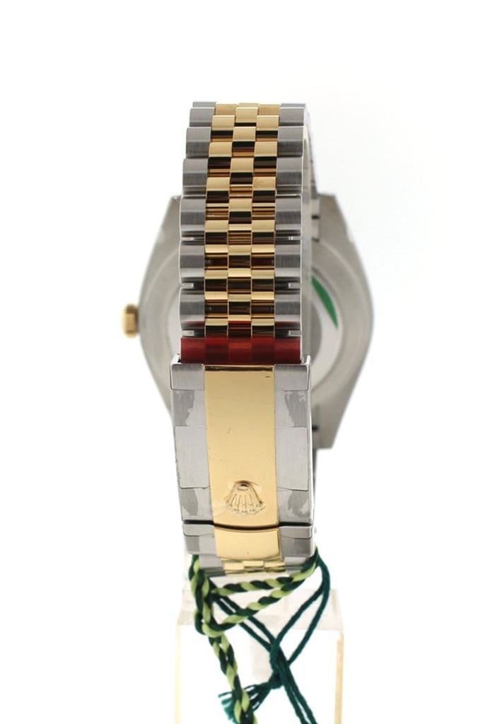 Rolex Datejust 31 Champagne Diamond Dial Diamond Bezel 18K Gold Two Tone Jubilee Ladies 178343