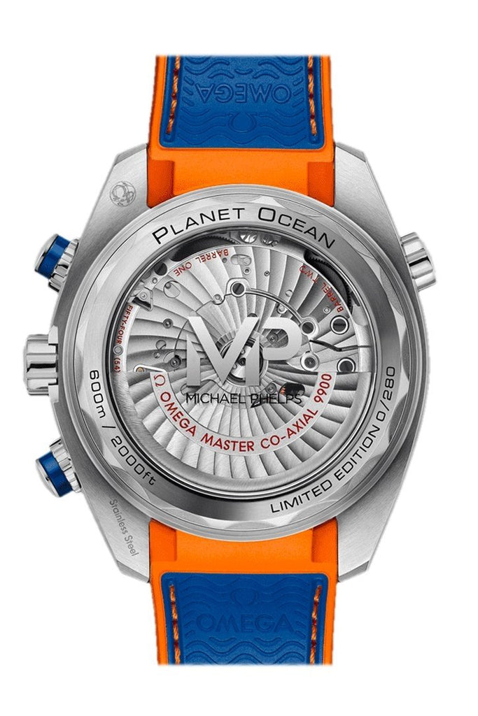 "Omega Planet Ocean 600m The Seamaster Planet Ocean ""Michael Phelps"" Limited Edition 215.32.46.51.04.001"