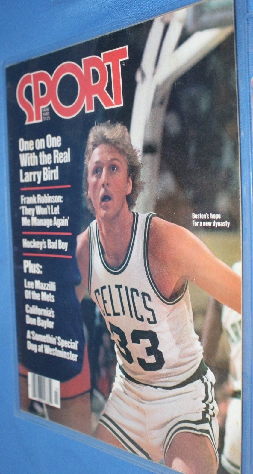 March 1980 Sport Magazine, Larry Bird on Cover - Vintage Indy Sports