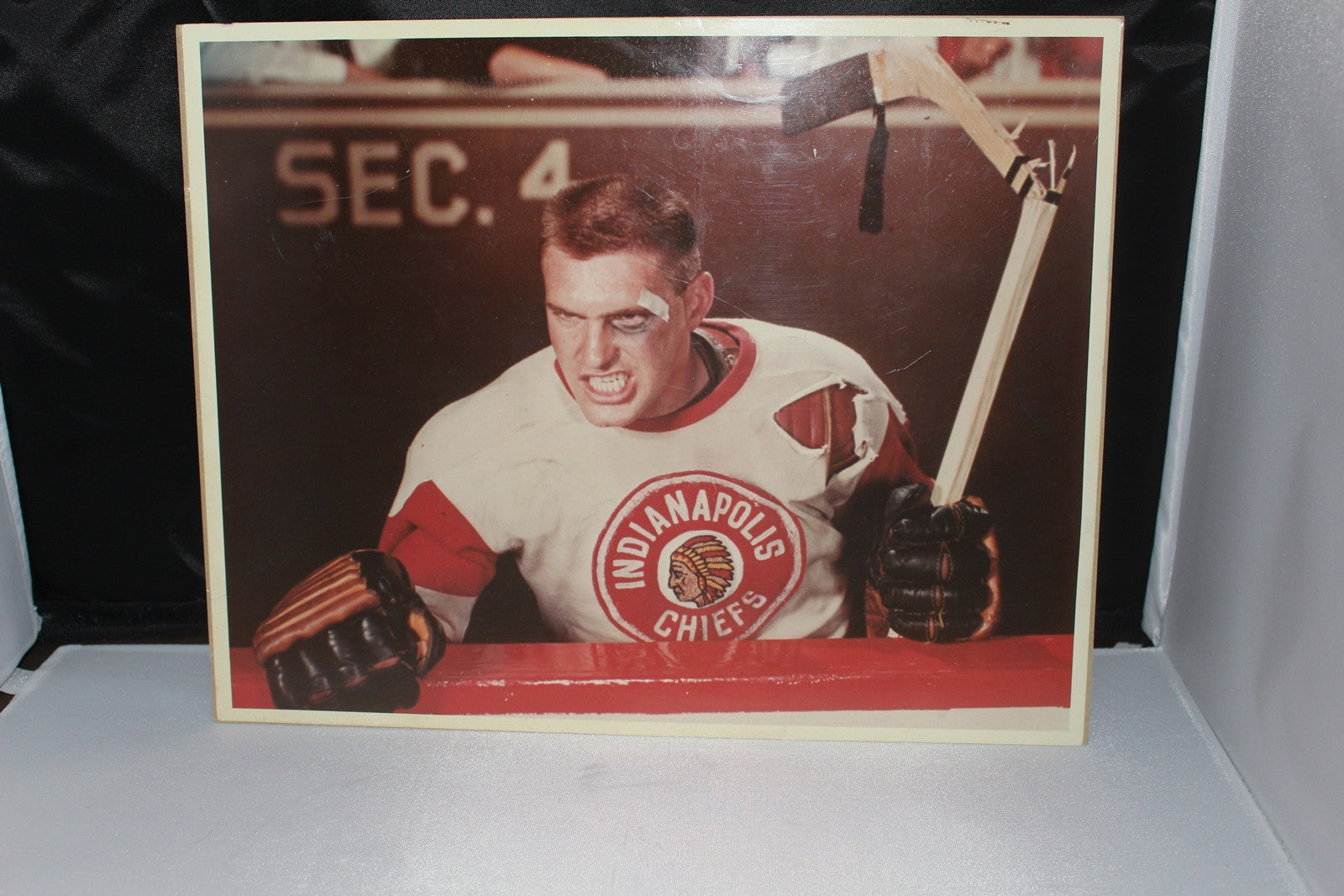 Vintage Indianapolis Chiefs Hockey 14x11 Promo Photo - Vintage Indy Sports