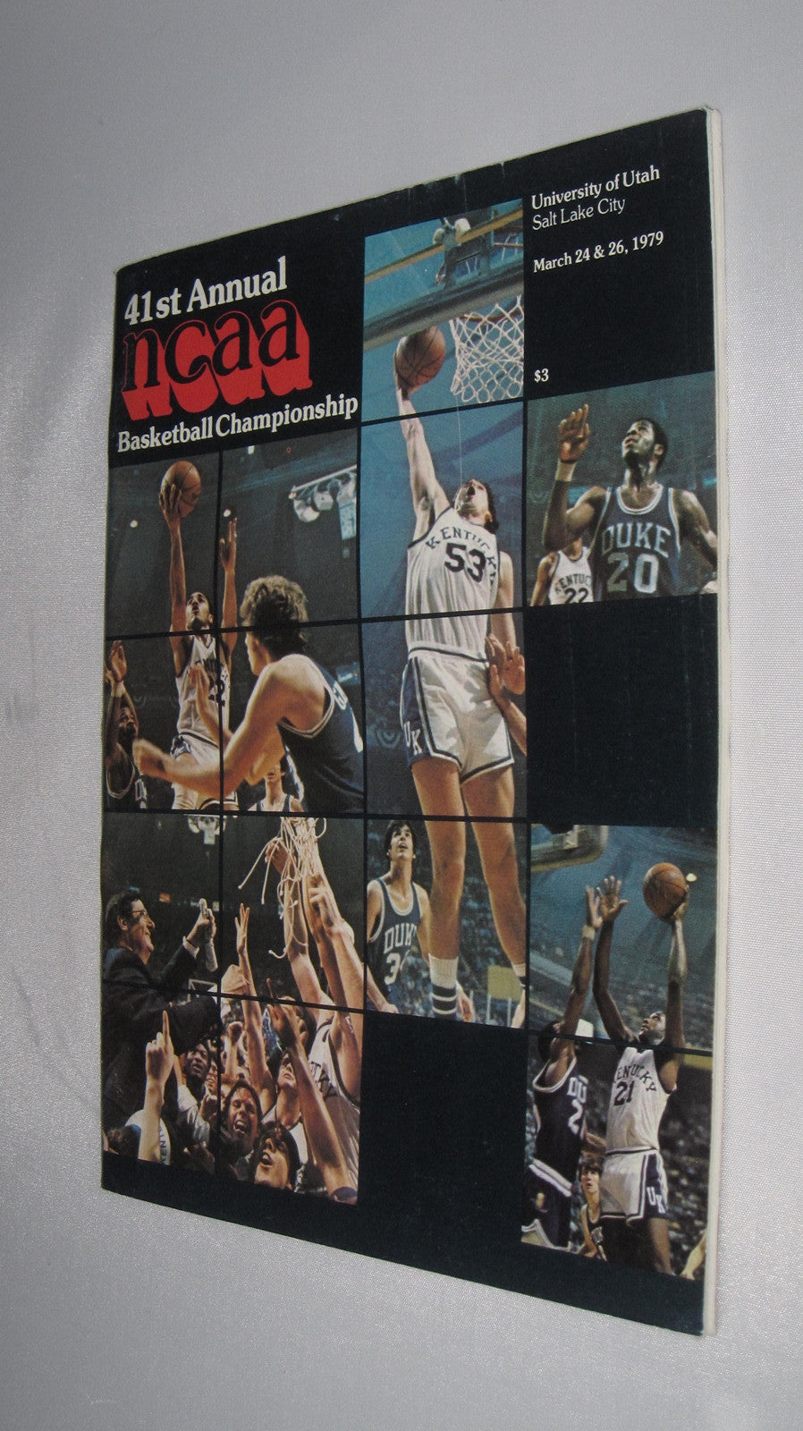 1979 NCAA Basketball Final 4 Larry Bird vs Magic Johnson - Vintage Indy Sports