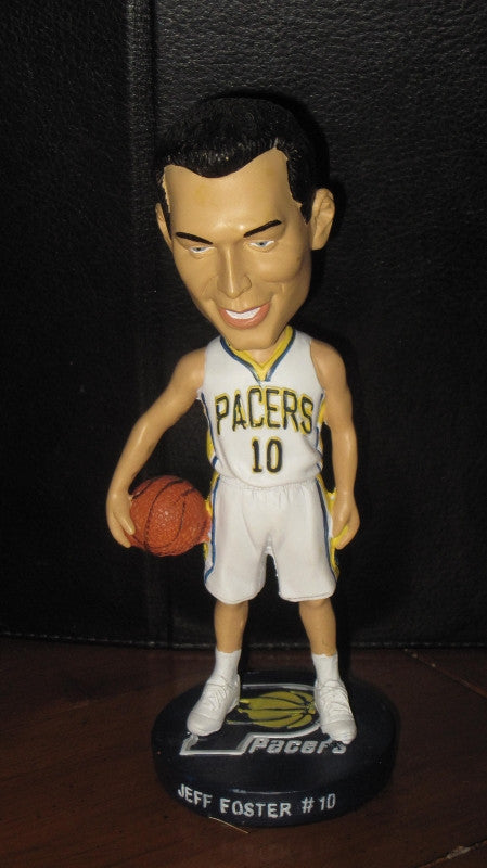 Jeff Foster Indiana Pacers Bobblehead - Vintage Indy Sports