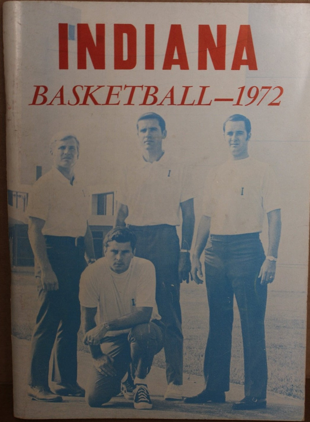 1972 Indiana Basketball Media Guide, Bob Knight's 1st Year - Vintage Indy Sports