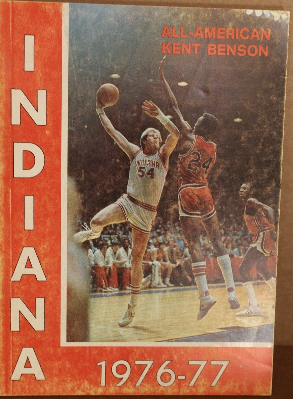 1976-77 Indiana University Basketball Media Guide - Vintage Indy Sports