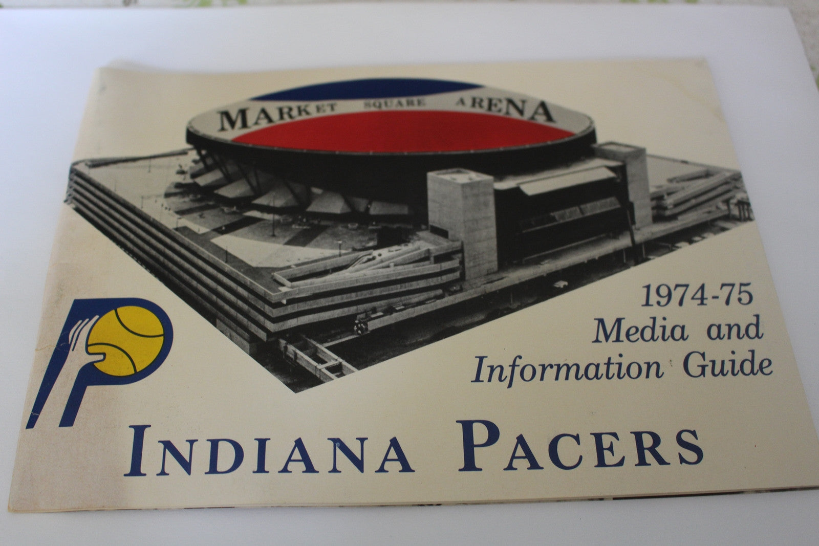 1974-75 Indiana Pacers ABA Basketball Media Guide - Vintage Indy Sports