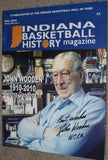 Fall 2010 Indiana Basketball History Magazine, John Wooden on Cover - Vintage Indy Sports