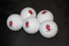 (5) Indiana University Logo Maxfli Golf Balls - Vintage Indy Sports