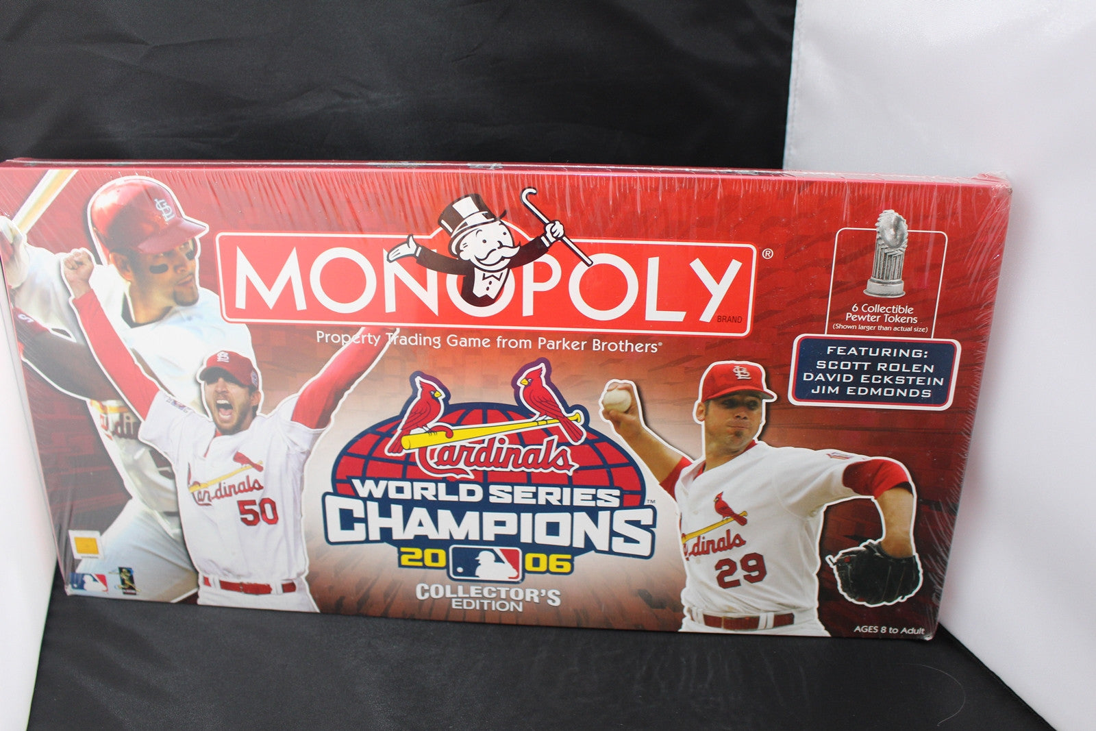 2006 Collectors Edition St Louis Cardinals World Series Champions Monopoly New Sealed