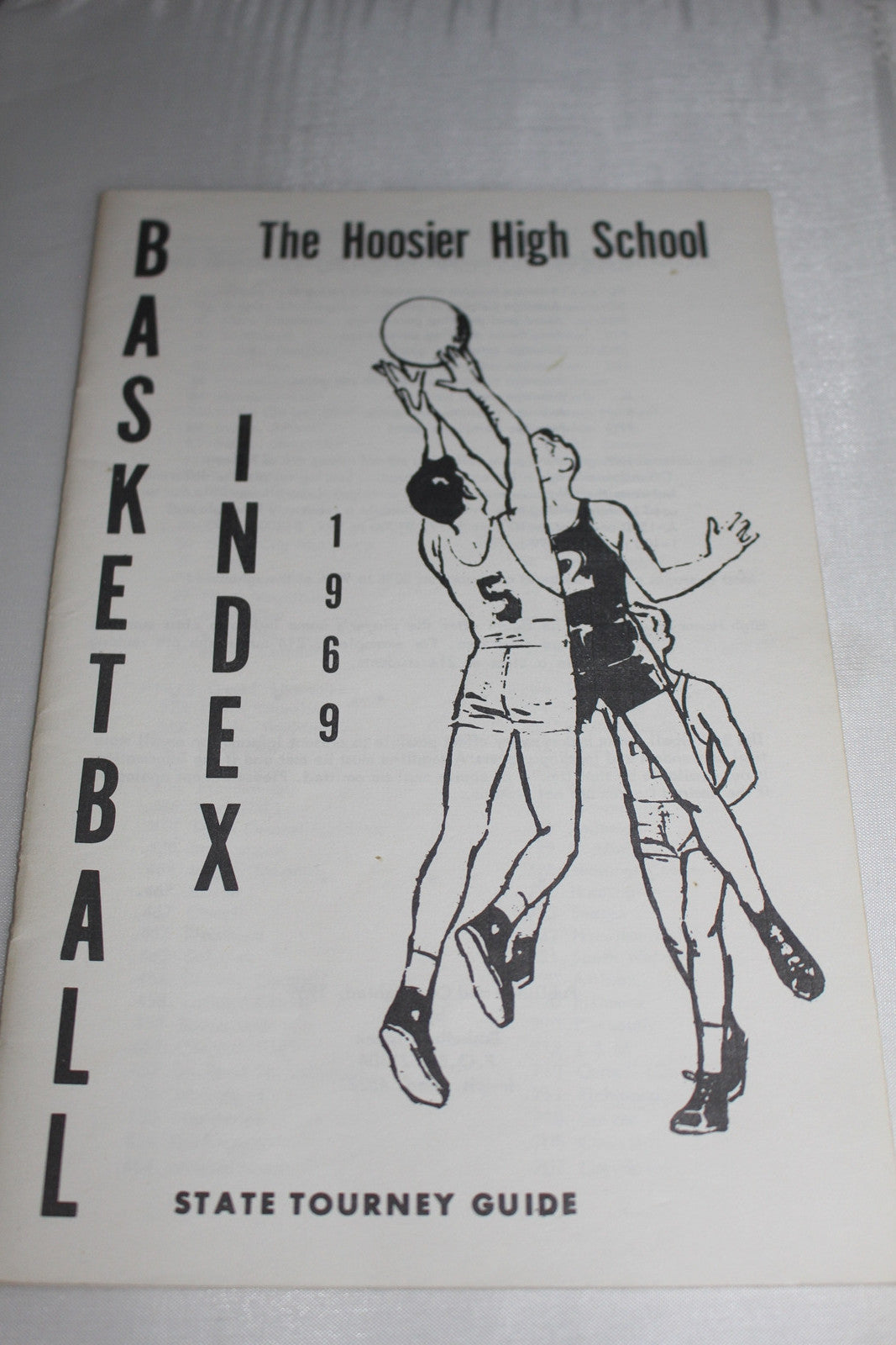 1969 The Hoosier High School Basketball Index State Tourney Guide - Vintage Indy Sports