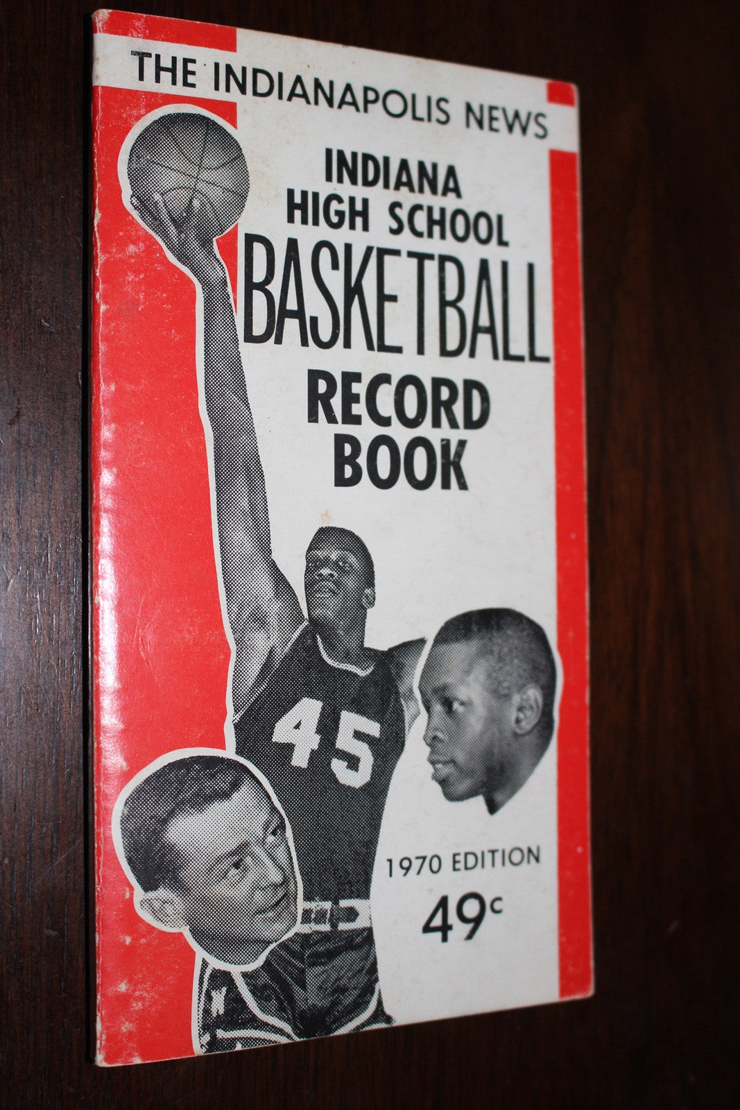 1970 Indianapolis News Basketball Record Book - Vintage Indy Sports