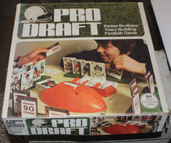 Vintage Pro Draft Football Parker Brothers Board Game
