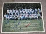 1985 INDIANAPOLIS INDIANS AUTOGRAPHED PHOTO - Vintage Indy Sports