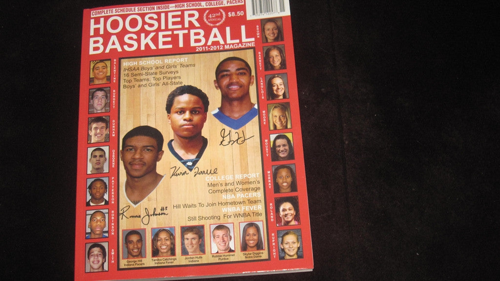 2011-2012 HOOSIER BASKETBALL MAGAZINE - Vintage Indy Sports