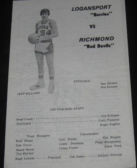 1976 LOGANSPORT VS RICHMOND - Vintage Indy Sports