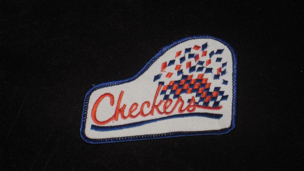 VINTAGE INDIANAPOLIS CHECKERS HOCKEY PATCH - Vintage Indy Sports