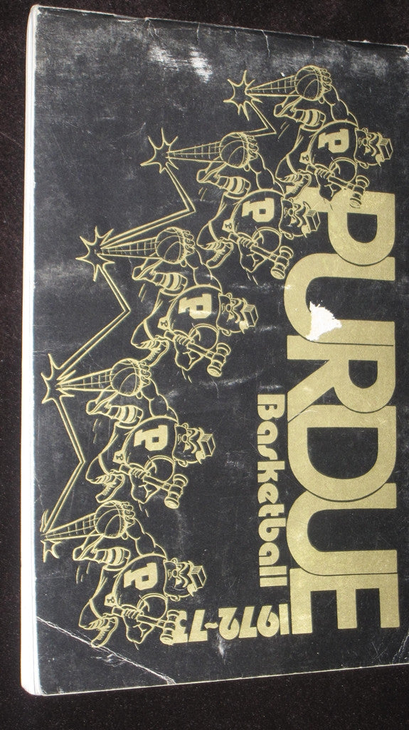 1972-73 PURDUE BASKETBALL MEDIA GUIDE - Vintage Indy Sports