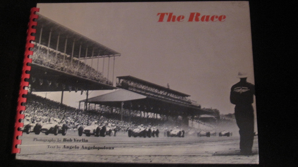 1958 The Race Oversized HB Book Indianapolis 500 - Vintage Indy Sports