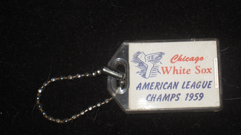 1959 Chicago White Sox American League Champions Key Chain - Vintage Indy Sports