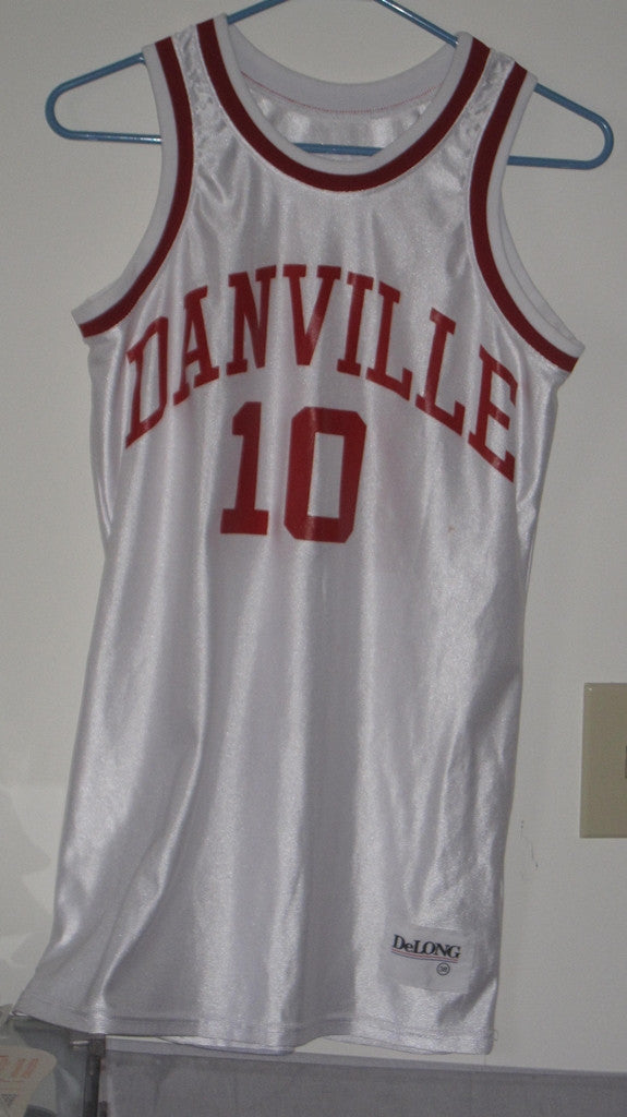 Danville, IN H.S. Basketball Jersey - Vintage Indy Sports
