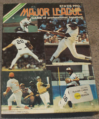 1979 Statis Pro Major League Baseball Board Game