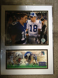 Peyton & Eli Manning 2006 First Day Cover and Photo - Vintage Indy Sports
