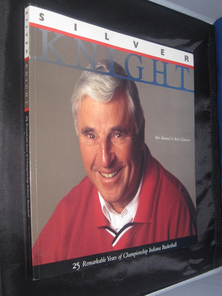 Silver Knight Oversized Paperback Book, Bob Knight by Bob Hammel - Vintage Indy Sports