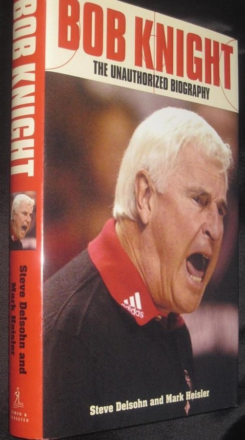 Bob Knight The Unauthorized Biography Hardback Book - Vintage Indy Sports