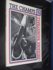 The Champs Indiana University Oversized Bob Hammel Paperback Book