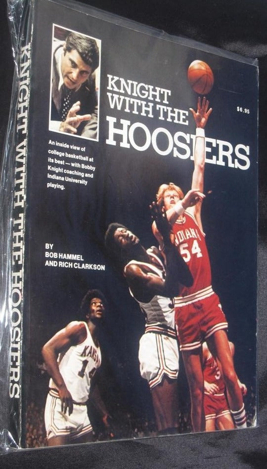 Knight With The Hoosiers1975  Oversized Bob Hammel Paperback Book - Vintage Indy Sports
